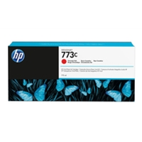 Hewlett Packard Original Ink Cartridges | HP HP 773C CHROMATIC RED INK CARTRIDGE | C1Q38A | ServersPlus