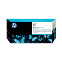 HP Original Ink Cartridges | HP Original 81 PHEAD LIGHT CYAN C4954A | C4954A | ServersPlus