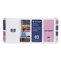 HP Original Ink Cartridges | HP Original 83 UV PHEAD/CLEAN LT MAGENTA C4965A | C4965A | ServersPlus