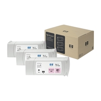 HP Original Ink Cartridges | HP Original 81 DYE 3X INKJET CARTRIDGE L MAGENTA C5071A | C5071A | ServersPlus