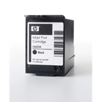 Hewlett Packard Original Ink Cartridges | HP HP TIJ 1.0 INKJET PRINT CART BLK C6602A | C6602A | ServersPlus