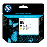 HP Original Ink Cartridges | HP Original 88 PHEAD BLACK/YELLOW C9381A | C9381A | ServersPlus