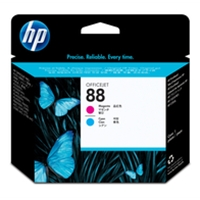 HP Original Ink Cartridges | HP Original 88 PHEAD MAG/CYAN C9382A | C9382A | ServersPlus