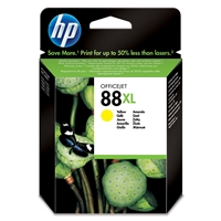 HP Original Ink Cartridges | HP Original 88XL Yellow Officejet Ink Cartridge C9393AE | C9393AE | ServersPlus
