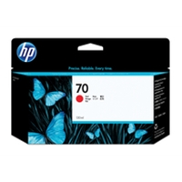 Hewlett Packard Original Ink Cartridges | HP 70 130-ml Red Ink Cartridge | C9456A | ServersPlus