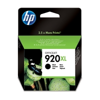 Hewlett Packard Original Ink Cartridges | HP 920XL Black Officejet Ink Cartridge | CD975AE#301 | ServersPlus