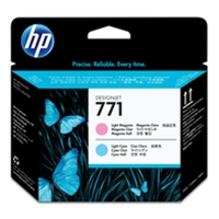Hewlett Packard Original Ink Cartridges | HP HP 771 DJET PH LT MAG/LT CYN CE019A | CE019A | ServersPlus