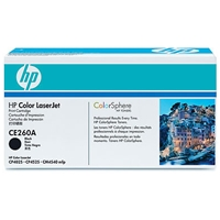 HP Original Laser Toners | HP Original Color LaserJet Black Print Cartridge CE260A | CE260A | ServersPlus