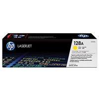 Hewlett Packard Original Laser Toners | HP 128A Yellow Original Laser Toner Cartridge | CE322A | ServersPlus
