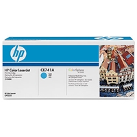 HP Original Laser Toners | HP Original Color LaserJet Cyan Print Cartridge CE741A | CE741A | ServersPlus