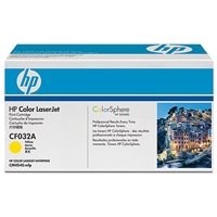 HP Original Laser Toners | HP Original Color LaserJet  Yellow Print Cartridge CF032A | CF032A | ServersPlus