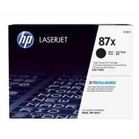 HP Original Laser Toners | HP Original 87X High Yield Black Original LaserJet Toner Cartridge CF287X | CF287X | ServersPlus
