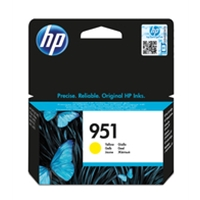 Hewlett Packard Original Ink Cartridges | HP 951 Yellow Officejet Ink Cartridge | CN052AE | ServersPlus