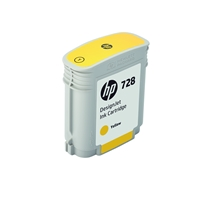 HP Original Ink Cartridges | HP Original 728 40-ml Yellow DesignJet Ink Cartridge F9J61A | F9J61A | ServersPlus