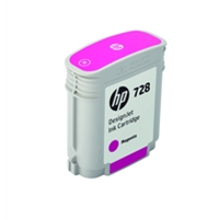 Hewlett Packard Original Ink Cartridges | HP 728 40-ml Magenta DesignJet Ink Cartridge | F9J62A | ServersPlus