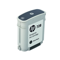 Hewlett Packard Original Ink Cartridges | HP 728 69-ml Matte Black DesignJet Ink Cartridge | F9J64A | ServersPlus