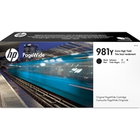 HP Original Ink Cartridges | HP Original 981Y Extra High Yield Black PageWide Cartridge L0R16A | L0R16A | ServersPlus