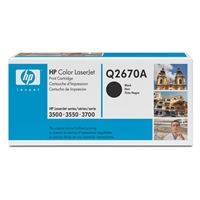 Hewlett Packard Original Ink Cartridges | HP 308A Black Laserjet Toner Cartridge | Q2670A | ServersPlus