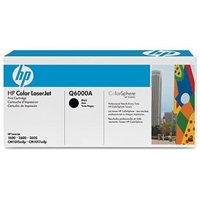 Hewlett Packard Original Laser Toners | HP 124A Black Original Laser Toner Cartridge | Q6000A | ServersPlus