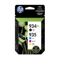 Hewlett Packard Original Ink Cartridges | HP HP 934-935XL HY CMYK INK CARTRIDGE | X4E14AE | ServersPlus