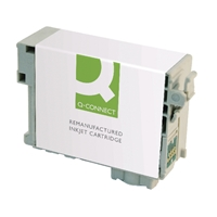 Q-Connect Epson Compatible Inkjet Cartridges | QCONNECT EPSON 27XL T27144 INK YLW | C13T271440-COMP | ServersPlus