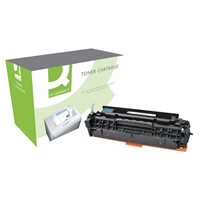 Q-Connect Hewlett Packard Compatible Laser Toners | QCONNECT HP TNR CART CC531A CYAN | CC531A-COMP | ServersPlus