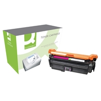 Q-Connect Hewlett Packard Compatible Laser Toners | QCONNECT HP CP4520/4525 TNR CART MAGENTA | CE263A-COMP | ServersPlus