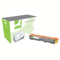 Q-Connect Brother Compatible Laser Toners | QCONNECT Compatible BROTHER TONER YELLOW  TN241Y-COMP | TN241Y-COMP | ServersPlus