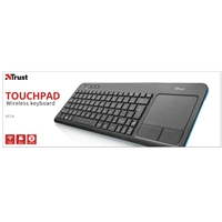 PC Keyboards & Mice | TRUST  Veza Wireless Media Keyboard with Integrated Trackpad | 21209 | ServersPlus