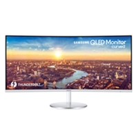 23 Inch and above PC Monitors | SAMSUNG C34J791WTU - 34-in Curved LED Monitor | LC34J791WTUXEN | ServersPlus