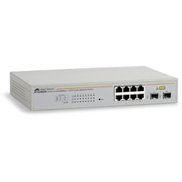 Smart Managed Network Switches | ALLIED TELESIS 8 port Gigabit WebSmart Switch | AT-GS950/8 | ServersPlus