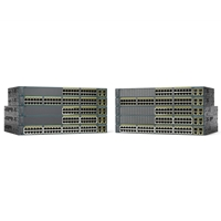 Cisco Managed Network Switches | CISCO Catalyst 2960-Plus 24LC-S - Switch - Managed - 24 x 10/100 + 2 x combo Gigabit SFP WS-C2960+24LC-S | WS-C2960+24LC-S | ServersPlus