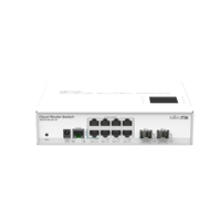 Smart Managed Network Switches | MikroTik CRS210-8G-2S+IN | CRS210-8G-2S+IN | ServersPlus