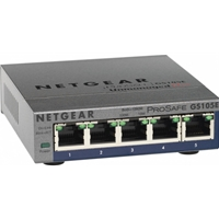 Unmanaged Switches | NETGEAR GS105E | GS105E-200UKS | ServersPlus