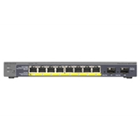 Smart Managed Network Switches | NETGEAR ProSafe 8-Port Gigabit PoE Smart Switch | GS110TP-200EUS | ServersPlus