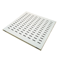 Server Cabinet Shelves | SERVERS PLUS Fixed Vented Shelf - 670mm Deep | SPS-FS670 | ServersPlus