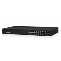 Ubiquiti Managed Network Switches | Ubiquiti EdgeSwitch 16 150W Managed PoE+ Network Switch | ES-16-150W | ServersPlus