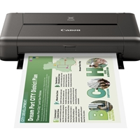 Canon InkJet Printers  | CANON PIXMA iP110 Portable Wireless Colour Printer | 9596B028 | ServersPlus