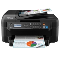 Epson Multifunction InkJet Printers | EPSON Epson WorkForce WF-2630WF Colour Wireless All-in-One Inkjet Printer | C11CE36401 | ServersPlus