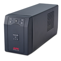 APC Tower UPS | APC Smart UPS SC, 620 VA 390W Interface Port DB-9 RS-232 SC620I | SC620I | ServersPlus