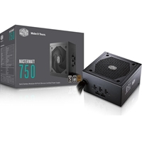 PC PSUs | COOLER MASTER Cooler Master MasterWatt 750W 120mm Semi-Fanless Mode Silencio Fan 80 PLUS Bronze Semi Modular PSU | MPX-7501-AMAAB-UK | ServersPlus
