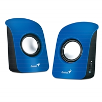 PC Speakers | GENIUS SP-U115 Stereo USB Speakers Blue | 31731006102 | ServersPlus