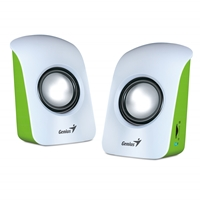 PC Speakers | GENIUS SP-U115 Stereo USB Powered Speakers White | 31731006103 | ServersPlus