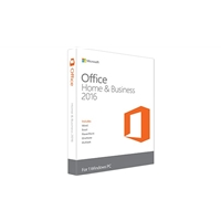 Microsoft Office | MICROSOFT Office Home and Business 2016 Retail Box | T5D-02826 | ServersPlus