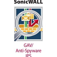 SonicWall Licences | DELL Gateway Anti-Malware IP and Application Control for TZ 205 Series 1y | 01-SSC-4799 | ServersPlus