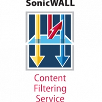 SonicWall Licences | SONICWALL Content Filtering Service Premium Business Edition for NSA 2400 (1 Year) | 01-SSC-7334 | ServersPlus